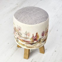 Voyage Maison Monty Footstool - Caledonian Forest