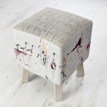 Voyage Maison Toby Footstool - Cranes