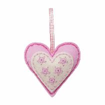 Felt Decoration Kit - Heart