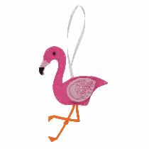 Felt Decoration Kit - Flamingo