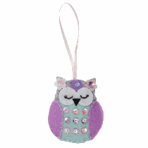 Felt Decoration Kit - Spring Owl