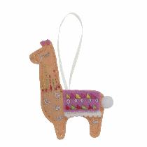 Felt Decoration Kit - Llama