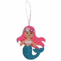 Felt Decoration Kit - Mermaid
