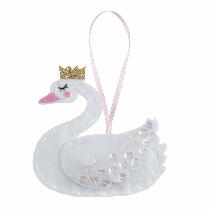 Felt Decoration Kit - Swan