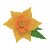 Felt Decoration Kit - Daffodil Brooch