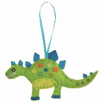 Felt Decoration Kit - Dinosaur