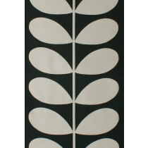 Orla Kiely Giant Stem Fabric - Cool Grey