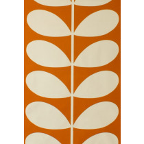 Orla Kiely Giant Stem Fabric - Orange
