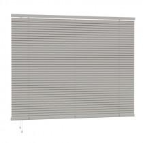 25mm PVC Slat Venetian Blind 160cm Drop - Grey