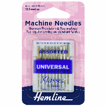 Sewing Machine Needles: Universal Assorted - Pack of 10