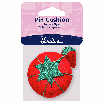 Tomato Pin Cushion With Strawberry Sharpener