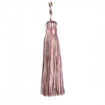 Florentine Cushion Tassel - Chalk Pink