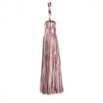 Florentine Cushion Tassel - Chalk Pink