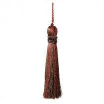 Metallics Key Tassel - Bronze