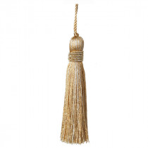 Metallics Key Tassel - Gold