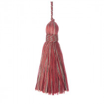 Belezza Key Tassel - Ruby