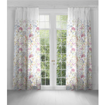 Voyage Maison Hedgerow Eyelet Curtains - White - 170 x 300cm
