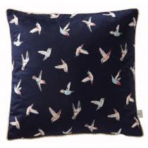 Clarke And Clarke Humming Bird Cushion - 43 x 43
