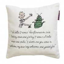 Roald Dahl James and the Giant Peach 30cm x 30cm Cushion