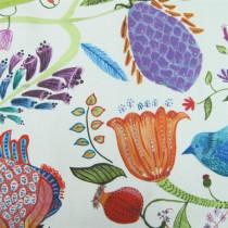 Voyage Lindu Fabric - Summer Ecru