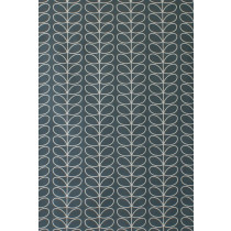 Orla Kiely Linear Stem Fabric - Cool Grey