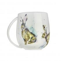 Voyage Hurtling Hares Mug