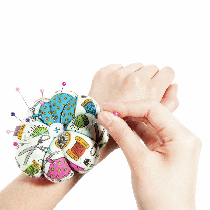 Pin Cushion: Wrist Strap