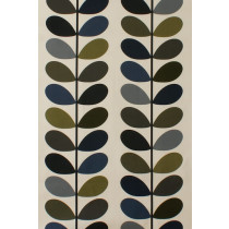 Orla Kiely Multi Stem Fabric - Moss