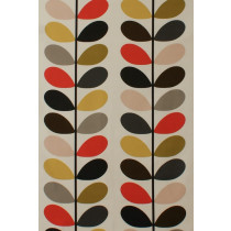 Orla Kiely Multi Stem Fabric - Tomato