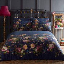 Clarke And Clarke Renaissance Duvet Set - Midnight