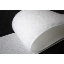 "Stick-On Hook Velcro (White) 50mm (2"") - Price Per Metre"