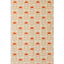 Orla Kiely Sweet Pea Fabric - Orange