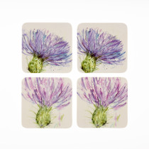 Voyage Maison Set of 4 Thistles Coasters