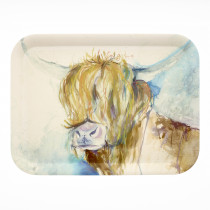 Voyage Maison Highland Cow Large Tray