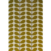 Orla Kiely Two Colour Stem Fabric - Olive